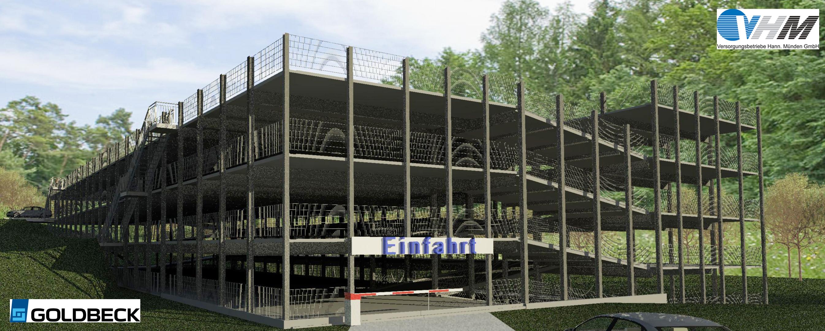 versorgungsbetriebe hann m nden versorgungsbetriebe bauen parkhaus am gesundheitszentrum. Black Bedroom Furniture Sets. Home Design Ideas